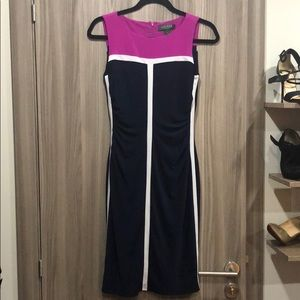 Colorblock Ralph Lauren dress. Size 2